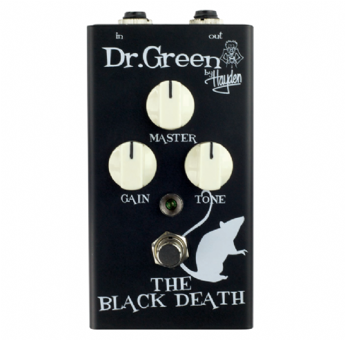 Dr. Green The Black Death Heavy Overdrive Pedal Guitar Effects Pedal
